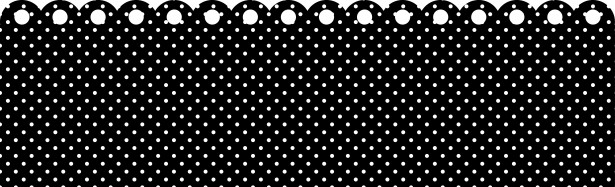 polka dots card
