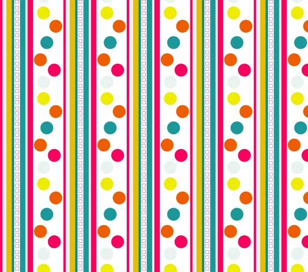 Stripes Polka Dots Pattern Free Stock Photo - Public Domain Pictures - stripes with polka dots