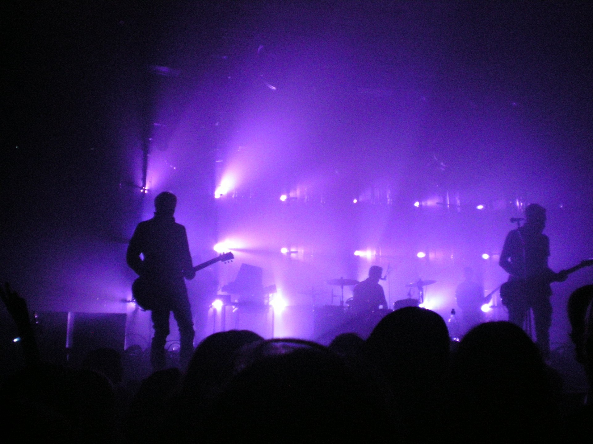 Fall Out Boy Wallpaper Mania Concert With Purple Lights Free Stock Photo Public