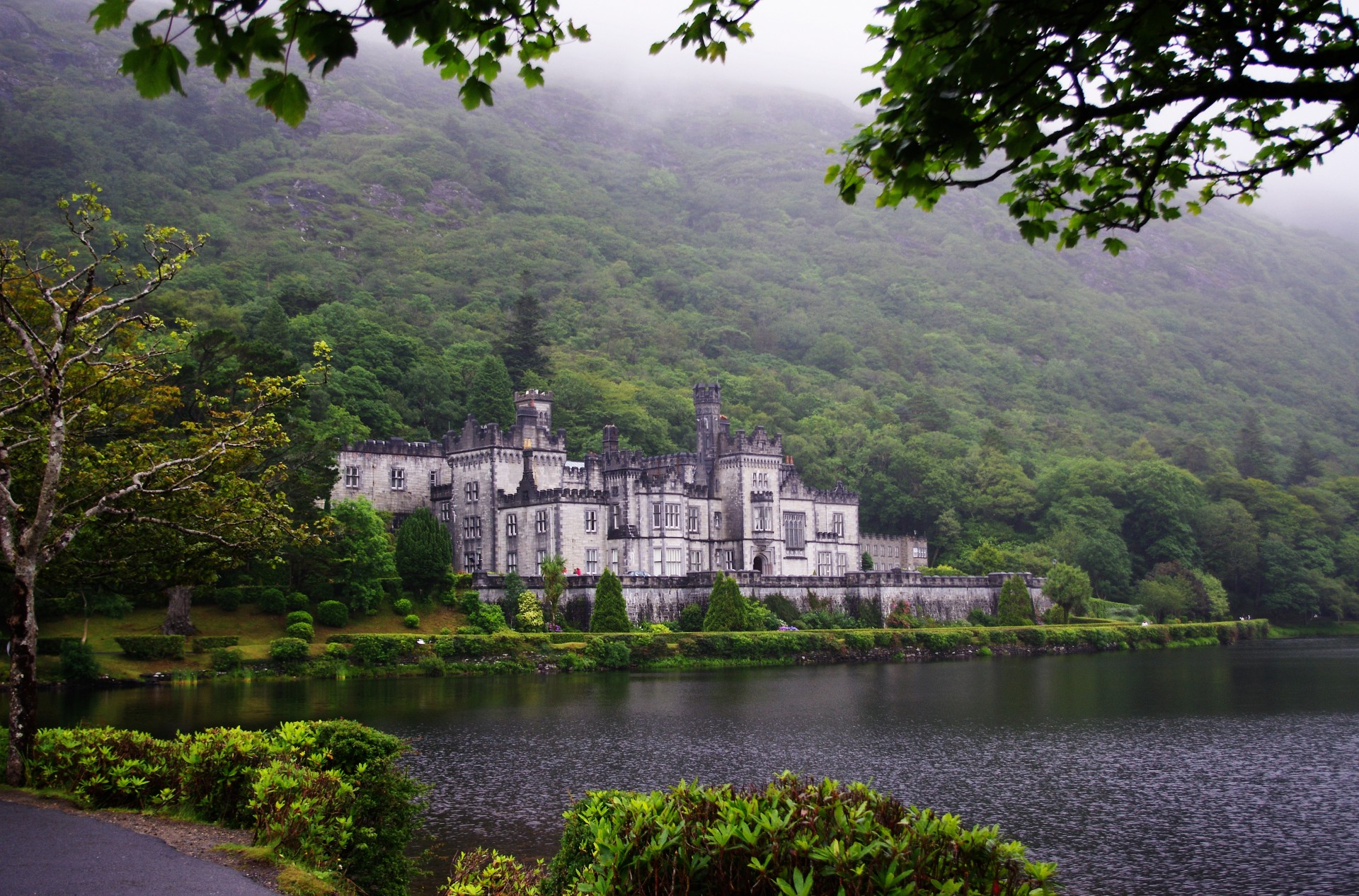 Hd Irish Wallpaper Kylemore Abbey Free Stock Photo Public Domain Pictures