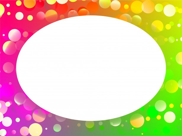 Rainbow Circle Border Free Stock Photo - Public Domain Pictures - rainbow page border