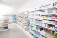 44323995 - medicines arranged in shelves at pharmacy