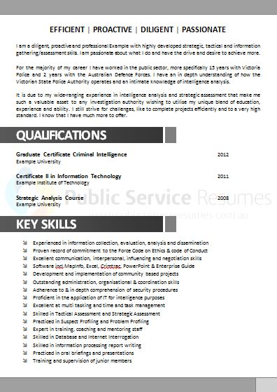Government Resume Example » Public Service Resumes - Free Review - example or resume