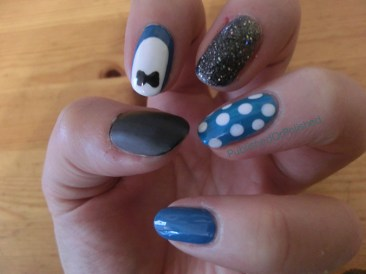 Fun with Blue and Grey