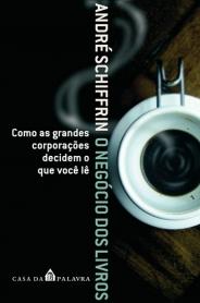 Capa de 'O negócio dos livros', de André Schiffrin