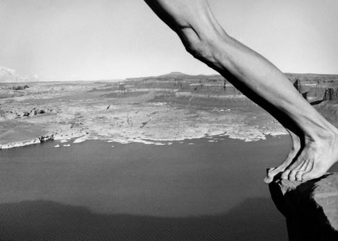 Arno Rafael Minkkinen - Title Hite, Utah 1997 - Courtesy PUG