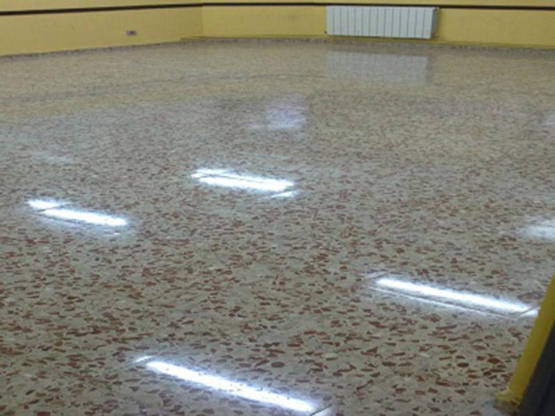 Abrillantar suelo de terrazo for Definicion de marmol