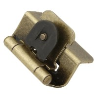 Hickory Hardware P5310-AB Antique Brass 1/2 Inch Overlay ...
