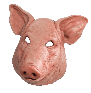 Depraved?... The club reportedly french kissed a severed pigs head.