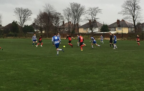 Photo to go with Luke Antipas' match report - men's football 4ths v University of Liverpool 4ths (2-12-15)