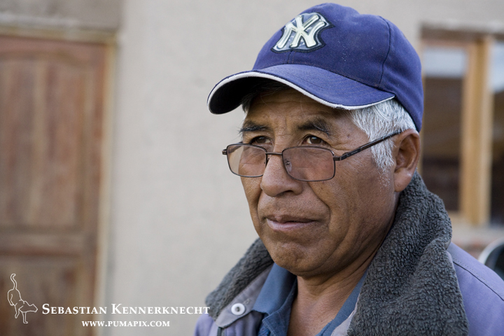 Don Rodolfo Apaza Chuquimia, western Bolivia
