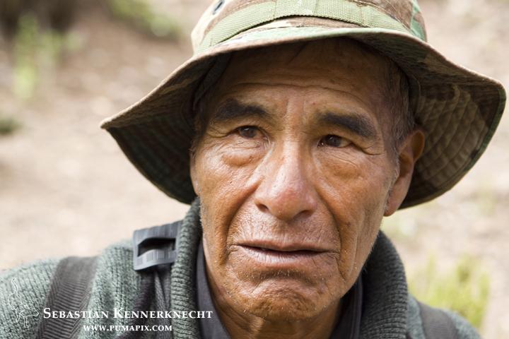 Don Mario Llusco, western Bolivia
