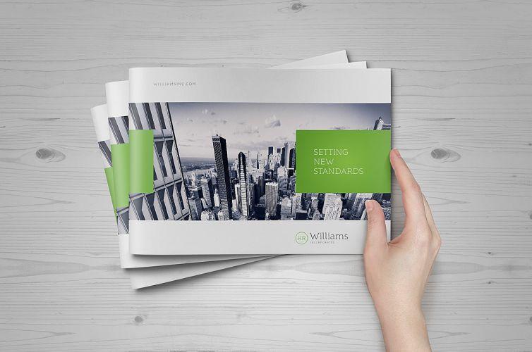 Landscape Brochure Mock-Up - PuneDesign