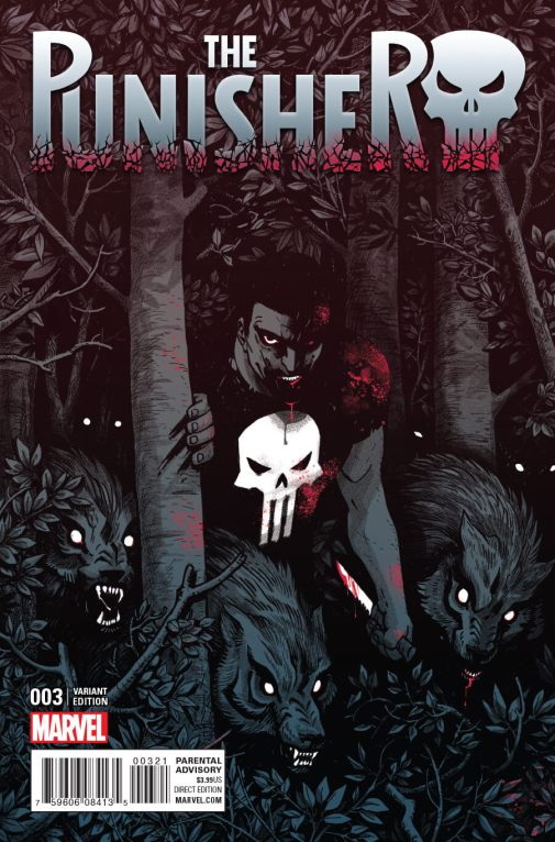 Punisher Vol 10 #3b Cloonan Variant