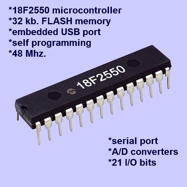 18F2550 MICROCONTROLLER SPECIFICATIONS BLOCK DIAGRAM BOLT 18F2550