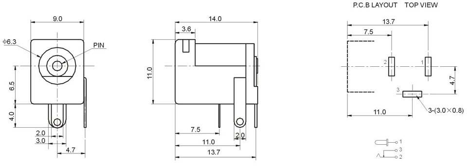 2 5mm jack diagrama de cableado