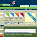 Diseña tu sticker diagonal para el blog con QuickRibbon