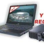 Portátil MSI DVR401 a 999€ con video proyector de regalo