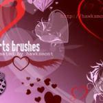 Mas de 200 brushes para San Valentín