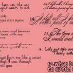 20 fonts para San Valentín