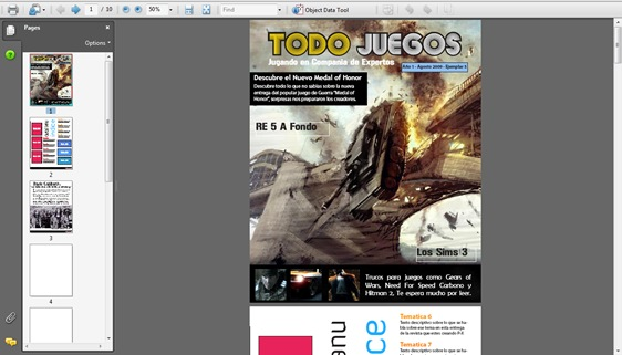 revista indesign