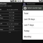 NetCounter, contador de tráfico de datos para Android