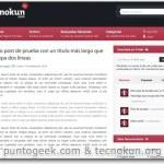 Sugoi, nuevo tema para WordPress liberado por Punto Geek y Tecnokun