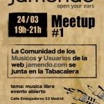 Primer encuentro de la comunidad de Jamendo en España