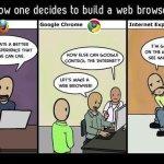 Humor: Cómo se decidió la creación de los navegadores