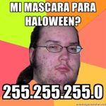 Mi máscara para Halloween [Humor Geek]