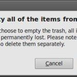 Cómo evitar el mensaje de alerta al vaciar la papelera de reciclaje en Ubuntu [Tutorial]