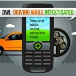Conducir y enviar SMS = Muerte [Infografía]