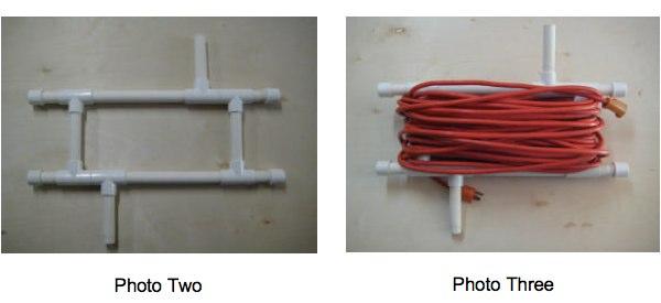 C mo crear un carrete para enrollar cable con unos tubos - Tubos para cables ...