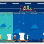 Sigue a Papá Noel, envía postales personalizadas y juega en Navidad con Google