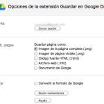 Guardar imágenes, archivos y capturas de pantalla directamente a Google Drive [Chrome]