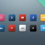 Iconos de redes sociales 2013