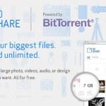 BitTorrent lanza SoShare, un servicio para enviar archivos de hasta 1 Terabyte gratis