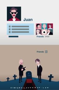 El número de amigos en tu funeral [Humor]