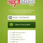 Spotalike, crea listas de reproducción perfectas con Spotify y Last.fm