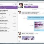 Viber lanza clientes de escritorio para Windows y Mac