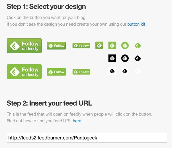feedly buttons