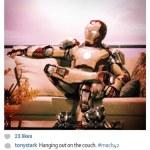 Si los superhéroes tuviesen Instagram