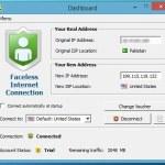 Faceless.me: Servicio VPN con 2GB gratis al mes