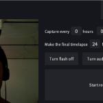 time.lapse.co: Crea un timelapse fácilmente desde tu cámara web