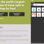 BlendMe: Navega y utiliza por miles de iconos directamente en Photoshop