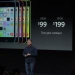 El iPhone 5C costará 99$