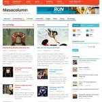 Mesocolumn: Un tema estilo magazine responsive gratuito para WordPress