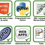 Cursos de desarrollo web gratis: HTML, CSS, Python, XML, PHP y webapps