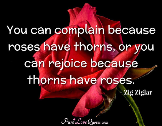 The Yellow Wallpaper Quotes About John You Can Complain Because Roses Have Thorns Or You Can