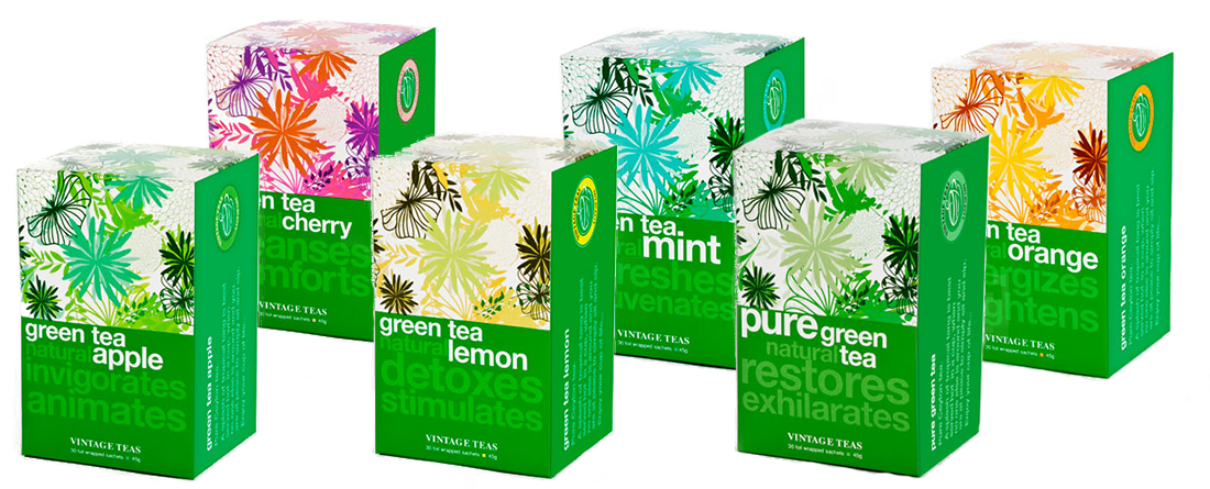 Pure Ceylon tea - Green tea range